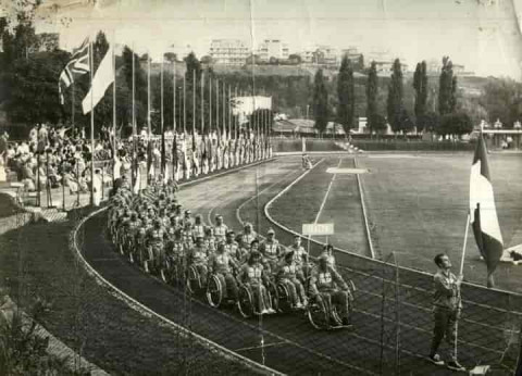 Copertina di Paralimpiadi di Roma